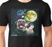 Howling Pug Unisex T-Shirt