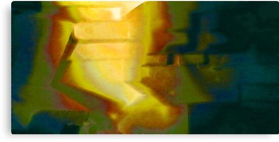 Like a light in the midst of night by Benedikt Amrhein
