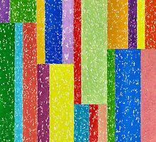 Verticolour - Brush And Gouache by RainbowArt