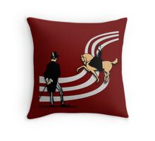Top Hat and Tails Throw Pillow