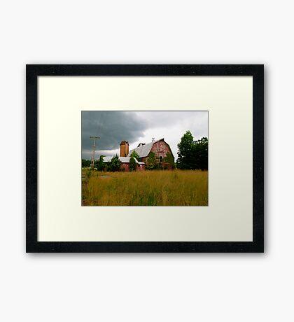 Abandoned Barn Framed Print