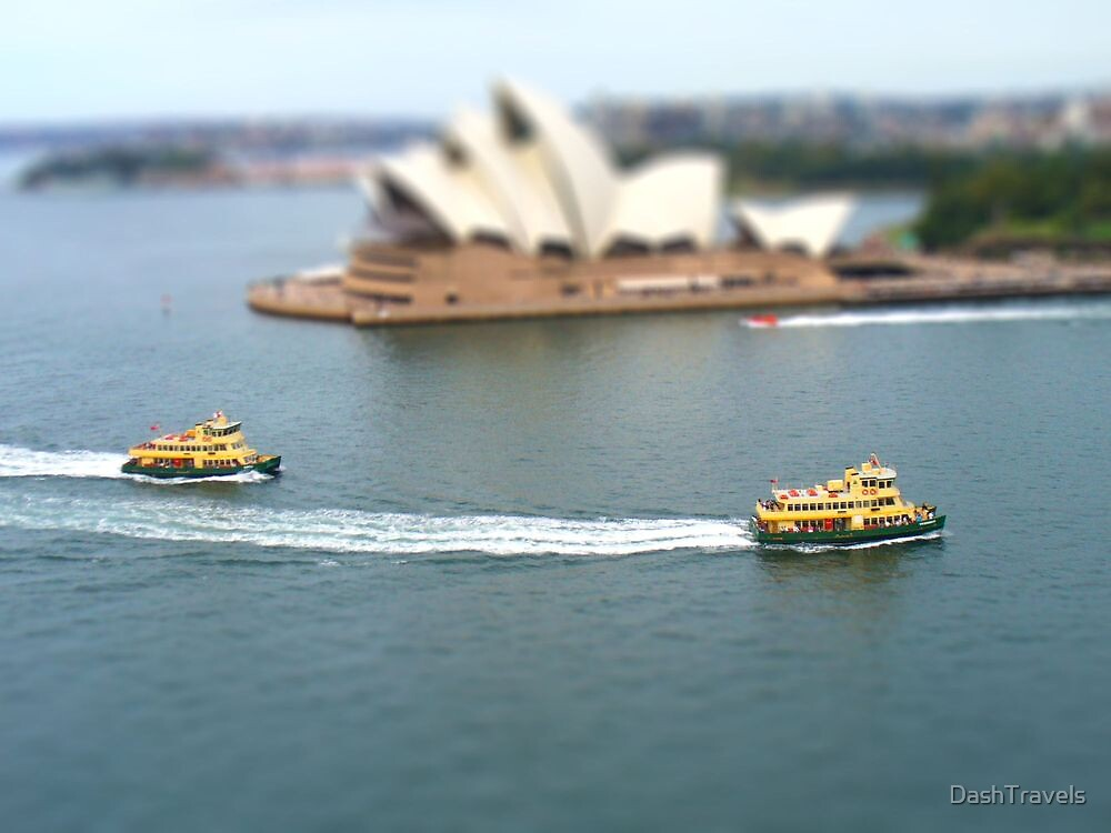 First Fleeters in Tilt Shift by DashTravels
