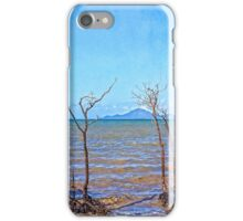 Dead mangroves after a cyclone iPhone Case/Skin