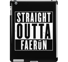Straight Outta Faerun iPad Case/Skin