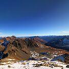Mountainscape by Stefan Trenker