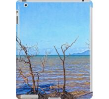 Dead mangroves after a cyclone iPad Case/Skin