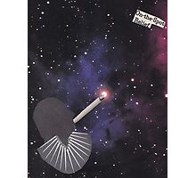 Smoking Space Photographic Print
