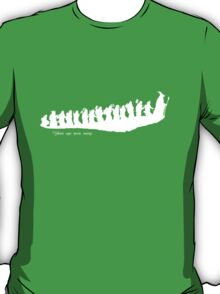 The Hobbit - There and back again... Silhouette T-Shirt T-Shirt