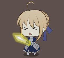 fate zero stay night saber excalibur anime manga shirt by ToDum2Lov3