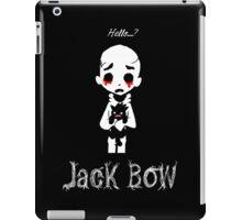 Jack Bow - Hello? iPad Case/Skin