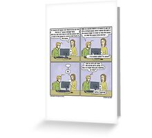Any resemblance to any existing terrible idea is purely coincidental, and something to be ashamed of. Greeting Card