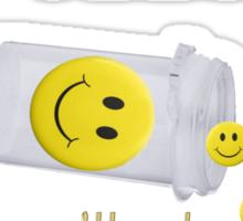 (◡‿◡✿) (◕‿◕✿) HAPPY PILLS TEE SHIRT~DON'T WORRY B HAPPY!! (◡‿◡✿) (◕‿◕✿) Sticker