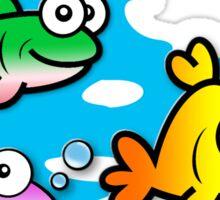 Fishy Friends Sticker