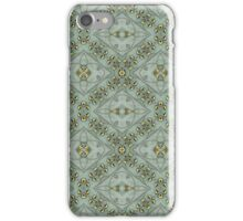 Victorian Golden Leaves #2 iPhone Case/Skin