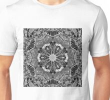 Abstract kaleidoscope of Umbrella Tree in Forest Unisex T-Shirt