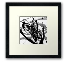 Blood from a Machine Framed Print