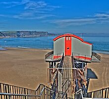 Tenby Lifeboat House Pembrokeshire 4 by Steve Purnell