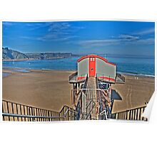 Tenby Lifeboat House Pembrokeshire 4 Poster