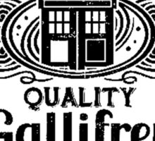 Who Gallifrey Police Box Sticker