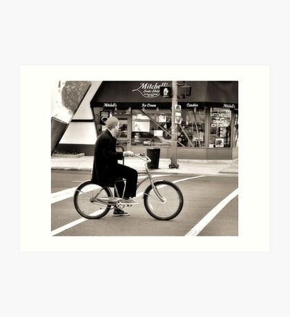 Crosswalk, Candy, Contemplation Art Print