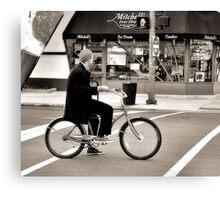 Crosswalk, Candy, Contemplation Canvas Print