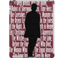 12th Doctor iPad Case/Skin