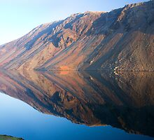 Wasdale Lake Screes 3 ~ January 2010 by Jan Fialkowski