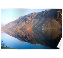Wasdale Lake Screes 3 ~ January 2010 Poster