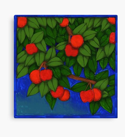 Oscar Fruit Tree Canvas Print