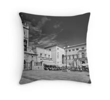 Zadar b&w VIII Throw Pillow