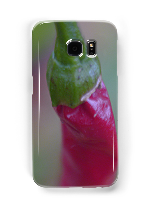 cayanne pepper iPhone case by andytechie