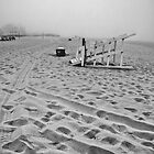 Abandoned Beach by Photographs by Crane