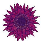 Purple flower by sweetslay