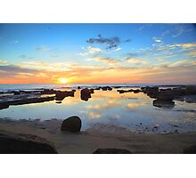 Coalcliff Coloured Dawn Photographic Print