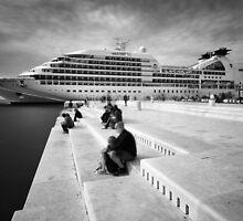 Zadar b&w VII by Ivan Coric