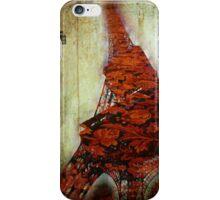 Eiffel flower iPhone case iPhone Case/Skin