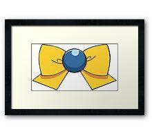 Uranus Bow Framed Print