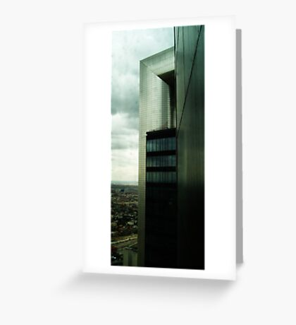 Madrid skyscraper Greeting Card