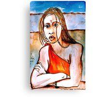 Aicha Canvas Print
