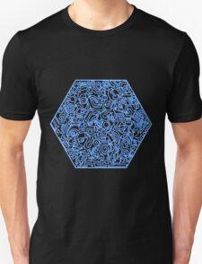 Blau T-Shirt