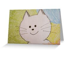 Paws Here Greeting Card