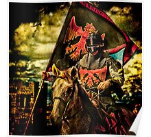 The Red Knight Rides Forth Poster