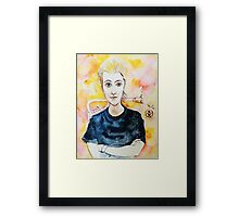 Beautiful Young Girl Framed Print