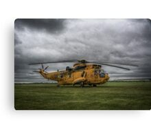 Westland Sea King HAR3 ZH543 Canvas Print
