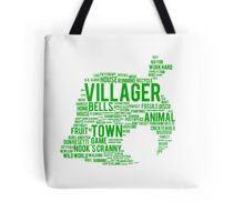 New Leaf Typograph Tote Bag