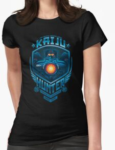 kaiju hunter Womens Fitted T-Shirt