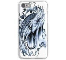 Tattoo Stetch Study - Squid iPhone Case/Skin