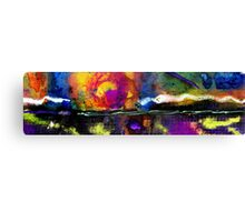 Rugged Line of Demarcation Canvas Print