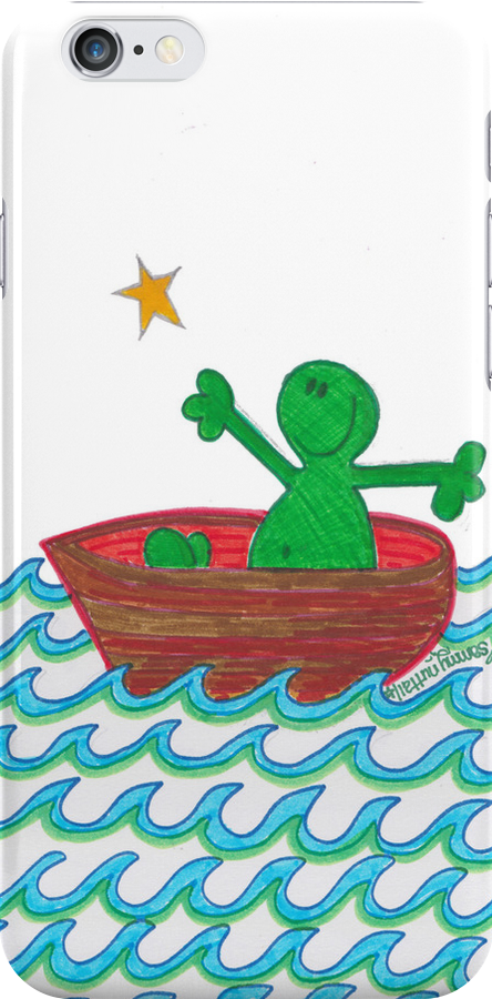 One Boat Each... (iPhone Case) by Sammy Nuttall