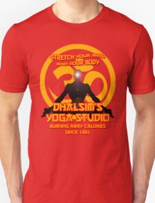 Dhalsims Yoga Studio Unisex T-Shirt